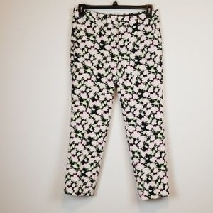 Banana Republic Avery Straight Floral Ankle Pants